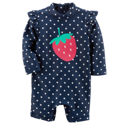 Carter's Dots One Piece Swimsuit Baby Girls