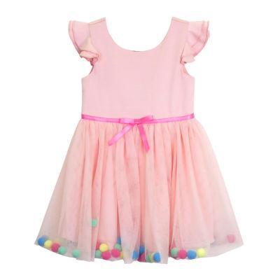 Lilt Short Sleeve Party Dress - Toddler Girls
