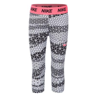 Nike Jersey Capri Leggings - Preschool Girls