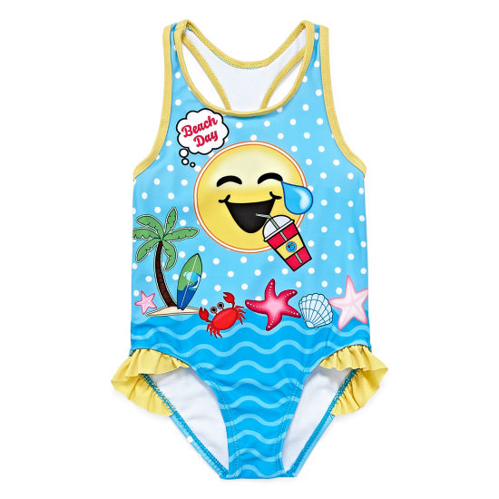 One Piece Swimsuit Toddler Girls