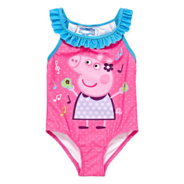 Peppa Pig One Piece Swimsuit Toddler Girls