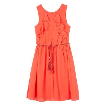 by&by girl Sleeveless Skater Dress Girls