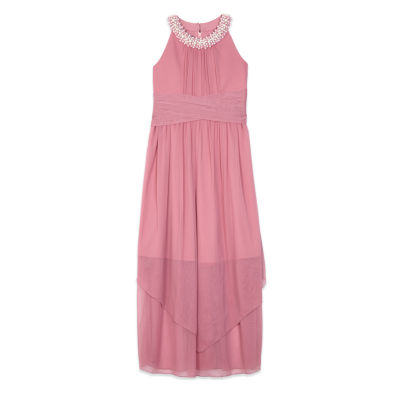 by&by girl Sleeveless Maxi Dress - Big Kid Girls