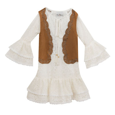 Rare Editions 2-pc. Jacket Dress Preschool Girls