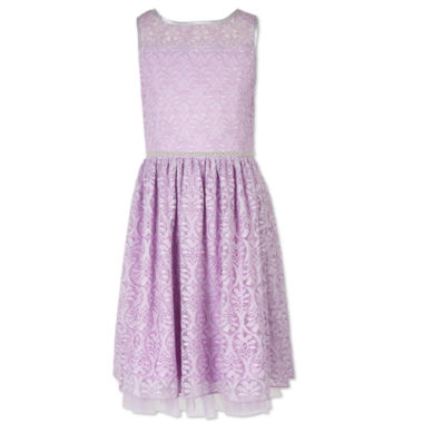 Sleeveless Party Dress - Big Kid Girls Speechless