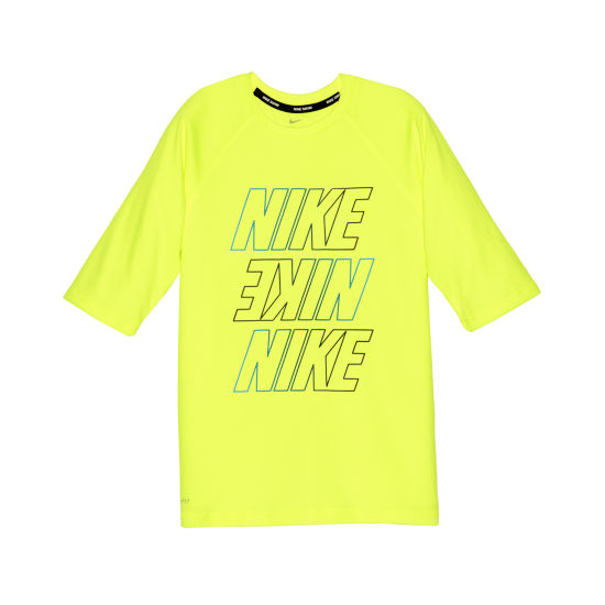 Nike Half Sleeve Rash Guard-Boys 4-7