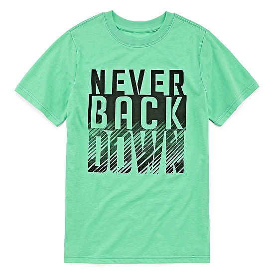 Xersion Boys Crew Neck Short Sleeve Graphic T-Shirt Preschool / Big Kid