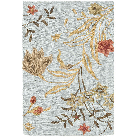 Safavieh Saffron Floral Wool Area Rug