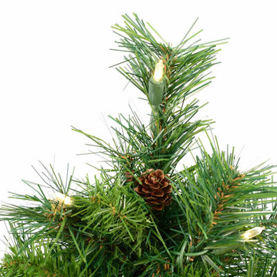 Vickerman 2' Cheyenne Pine Artificial Christmas Tree with 50 Clear Lights
