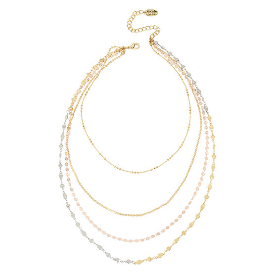 Nicole By Nicole Miller 16 Inch Illusion Necklace