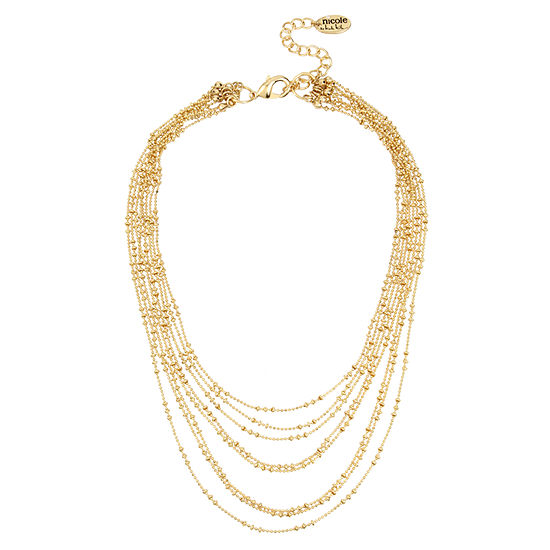 Nicole By Nicole Miller 14 Inch Collar Necklace