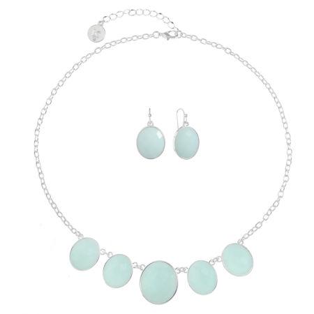 Liz Claiborne Liz Claiborne Womens 2-pc. Green Jewelry Set EsQQsEx8k