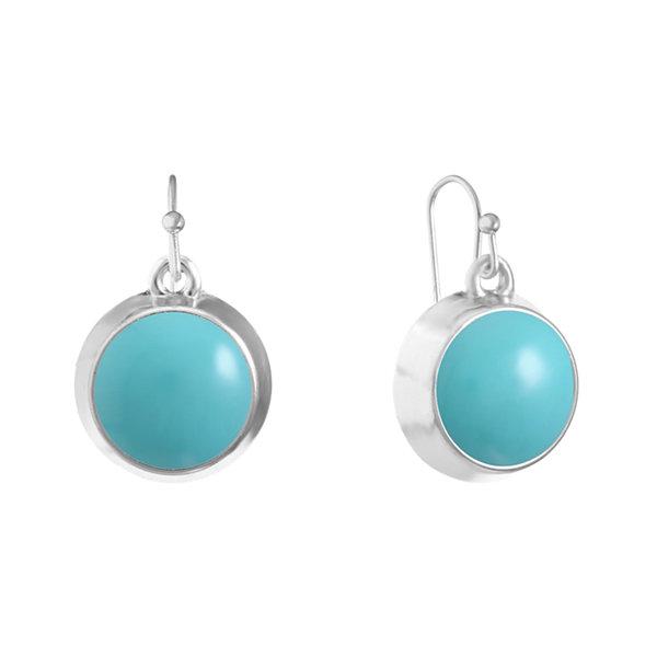 Liz Claiborne Liz Claiborne Green Drop Earrings kYsXgX3