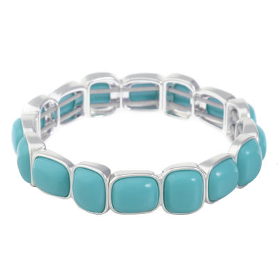 Liz Claiborne Womens Blue Stretch Bracelet