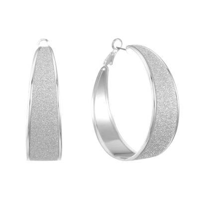 Liz Claiborne 50mm Hoop Earrings