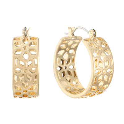 Liz Claiborne 25mm Hoop Earrings