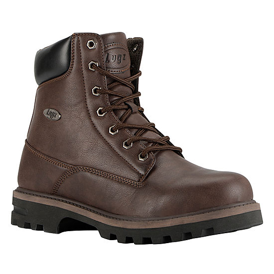 5d32e18b2424 Lugz Mens Empire Hi Wr Work Boots Lace Up Water Resistant Slip Resistant  Lace-up - JCPenney