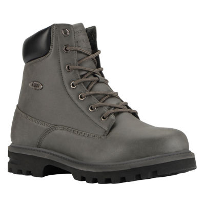Lugz Mens Empire Hi Wr Work Boots Lace Up Water Resistant Slip Resistant Lace-up