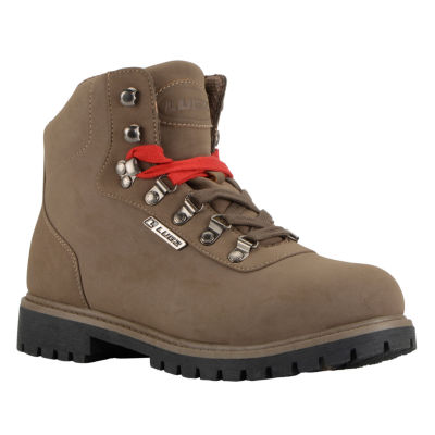 Lugz Pine Ridge Wr Mens Lace Up Water Resistant Slip Resistant Work Boots