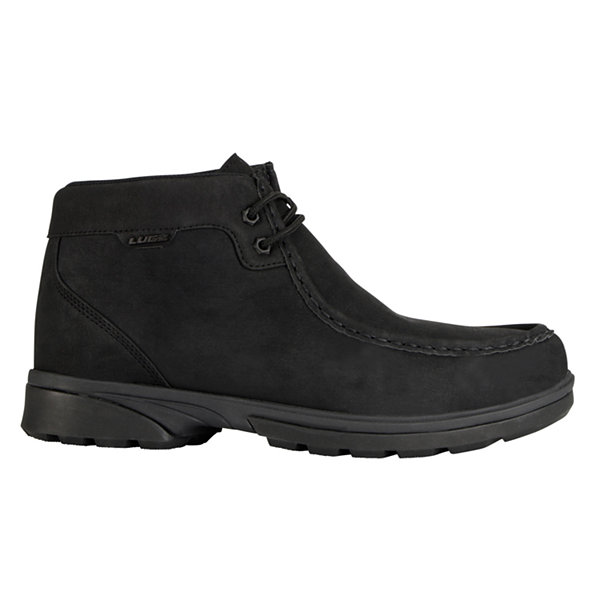 Lugz Zeo Moc Mid Mens Lace Up Water Resistant Slip Resistant Work Boots