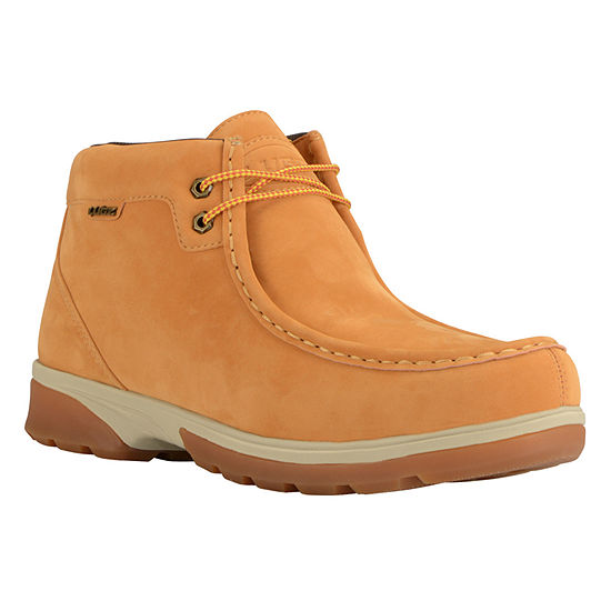 Lugz Mens Zeo Moc Mid Lace Up Water Resistant Slip Resistant Work Boots Lace Up