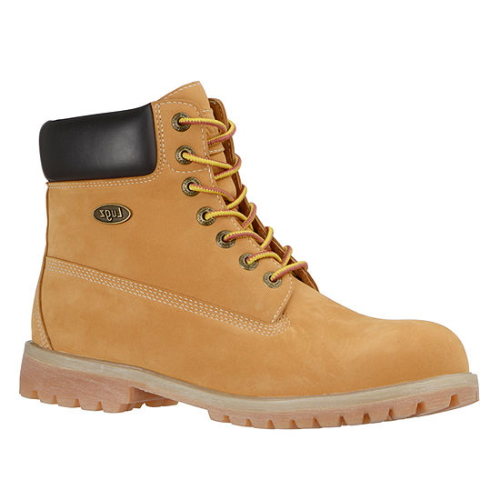 Lugz Mens Convoy Wr Water Resistant Work Boots Lace-up