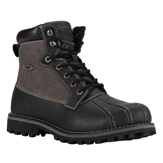 Lugz Mens Mallard Slip Resistant Work Boots