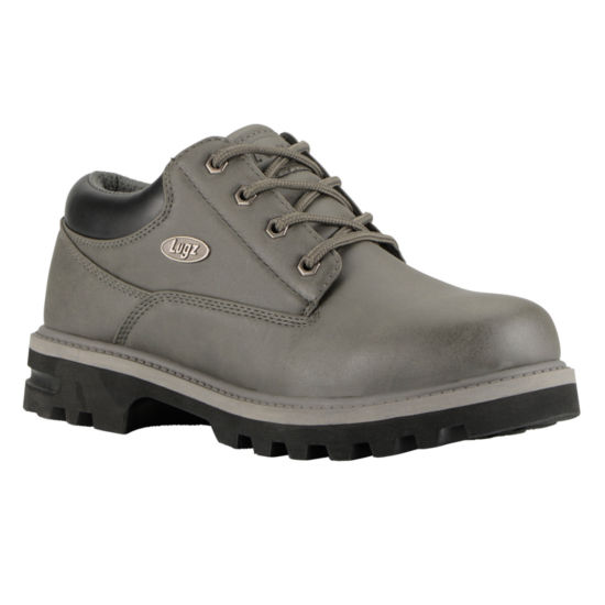 Lugz Mens Empire Lo Wr Work Boots Water Resistant Slip Resistant Lace-up