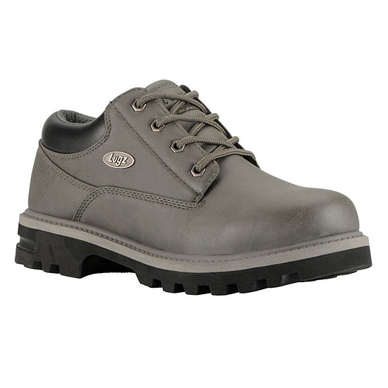 Lugz Mens Empire Lo Wr Water Resistant Slip Resistant Work Boots Lace-up