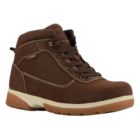 Lugz Mens Zeolite Mid Water Resistant Slip Resistant Insulated Work Boots