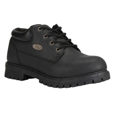 Lugz Mens Nile Lo Work Boots Lace Up Lace-up