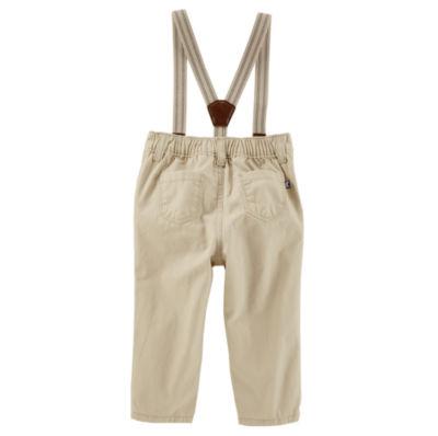Oshkosh Suspender Pants -Baby Boys