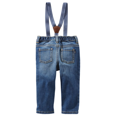 Oshkosh Suspender Jean- Baby Boys