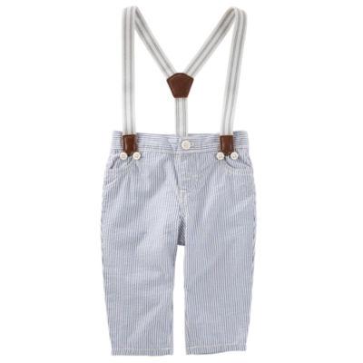 Oshkosh Suspender Pull-On Pants Boys