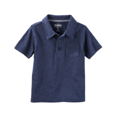 Oshkosh Short Sleeve Polo Toddler Boys