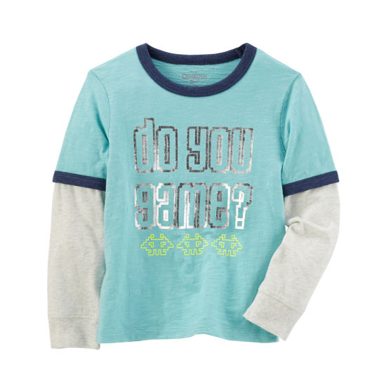 Oshkosh Long Sleeve T-Shirt-Preschool Boys