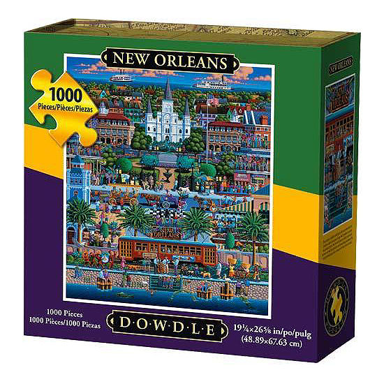 New Orleans 1000-pc Puzzle