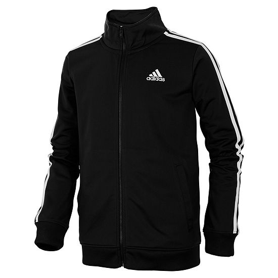 bc9a5733c adidas Boys Lightweight Track Jacket Big Kid JCPenney