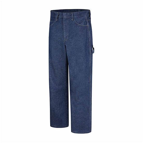 Bulwark® PEJ8 Mens 14-oz. Excel Fire-Resistant Jeans - Regular - Short - Big