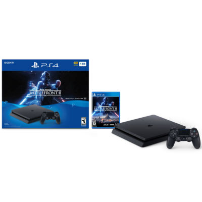 PlayStation 4 Slim 1TB Console - Star Wars Battlefront II Bundle