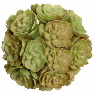 "2"" Artificial Mini Echeveria Succulent Orb"