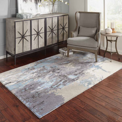 Covington Home Paramount Ombra Hand Tufted Rectangular Indoor Accent Rug