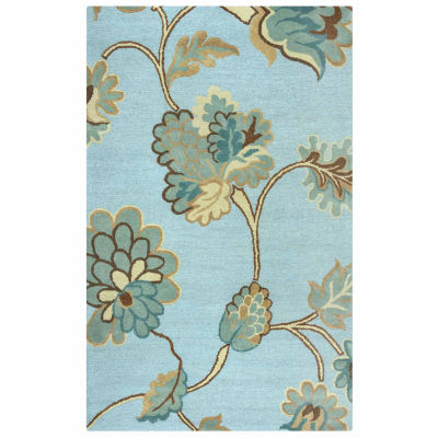 Rizzy Home Dimensions Floral Rectangular Rugs