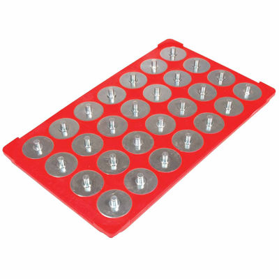 """1/2"""" Red Socket Caddy & 28 Pegs"""