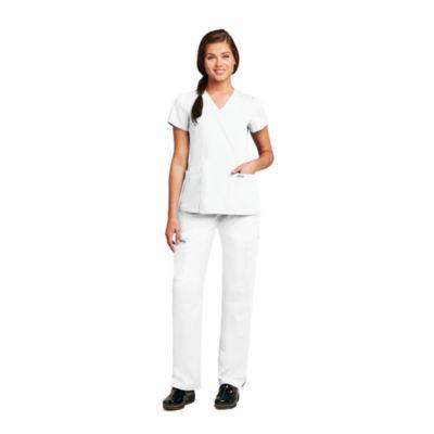 Grey's Anatomy™ Womens Scrubs, Mock Wrap Top - Plus