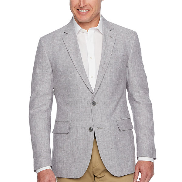 Stafford Linen Cotton Sport Coats - Slim Fit