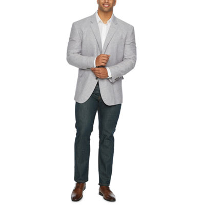 Stafford Linen Cotton Sport Coats – Big and Tall