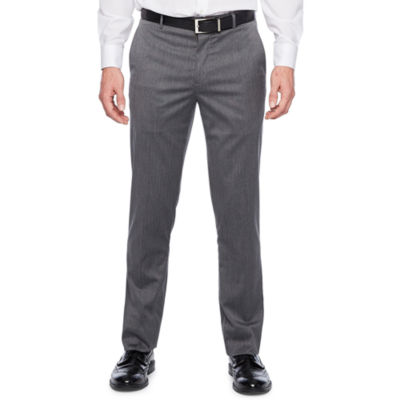 JF J.Ferrar Pin Dot Stretch Slim Fit Suit Pants
