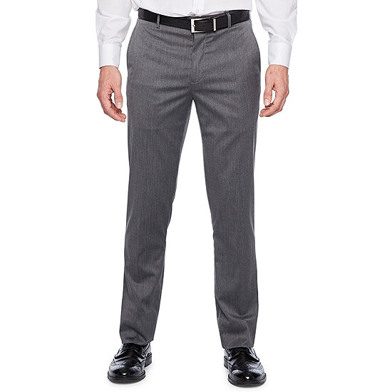JF J.Ferrar Pin Dot Slim Fit Stretch Suit Pants