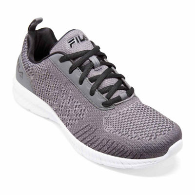 Fila Memory V Knit Mens Running Shoes Lace-up